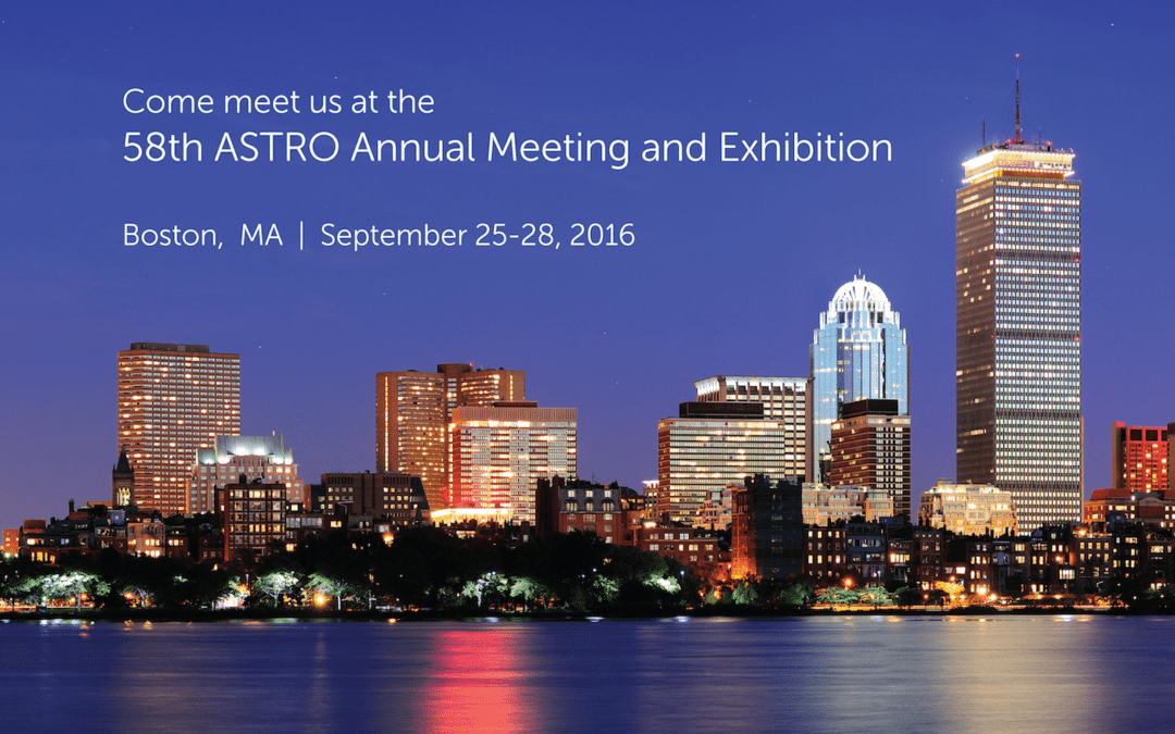 Meet us at the 58th ASTRO Annual Meeting and Exhibition