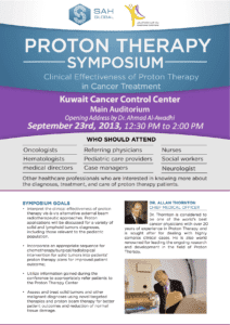 Kuwait Cancer Control Center Proton Therapy Symposium