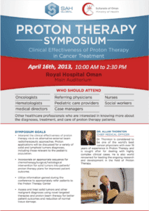 Royal Hospital Oman Proton Therapy Symposium