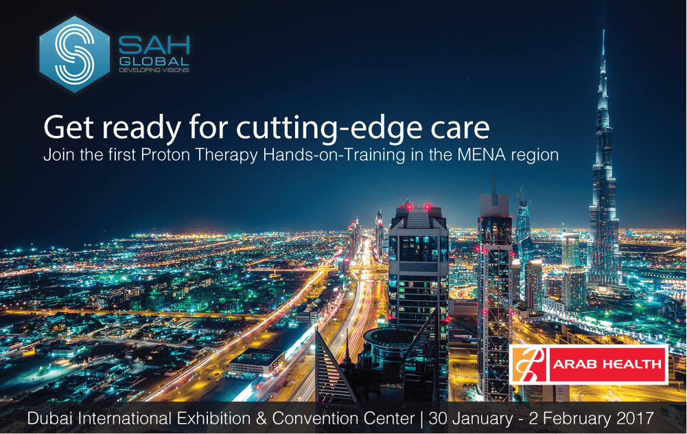 Join the First Proton Therapy Course in MENA at Arab Health 2017