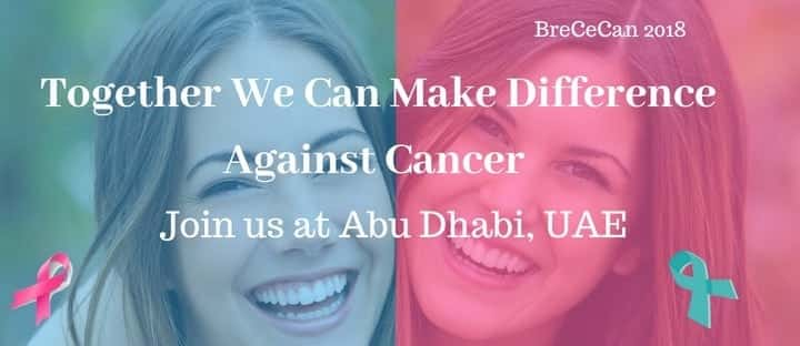 September 24th – 25th – Breast and Cervical Cancer Conference 2018, Abu Dhabi