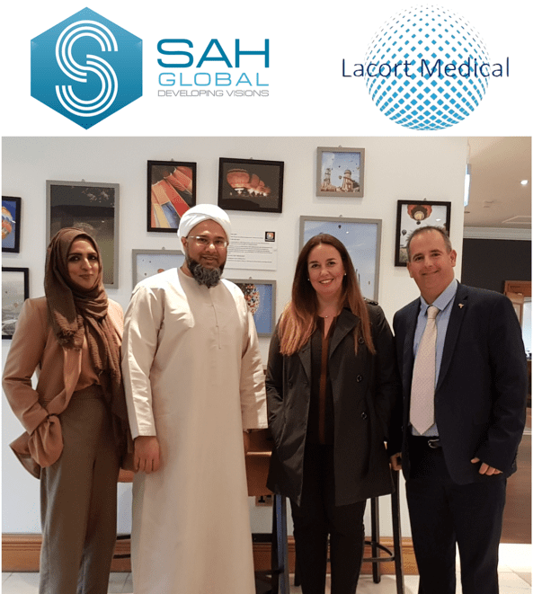 Lacort Medical and SAH Global Bringing Comprehensive Oncology Treatment, Training and Education to Latin America.